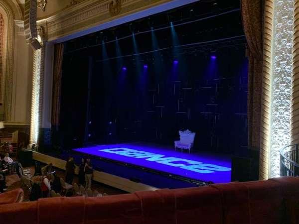Genesee Theatre, secção: LOGER, fila: A, lugar: 104