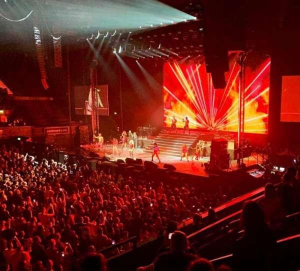 SSE Arena, Wembley, secção: N8, fila: F, lugar: 70