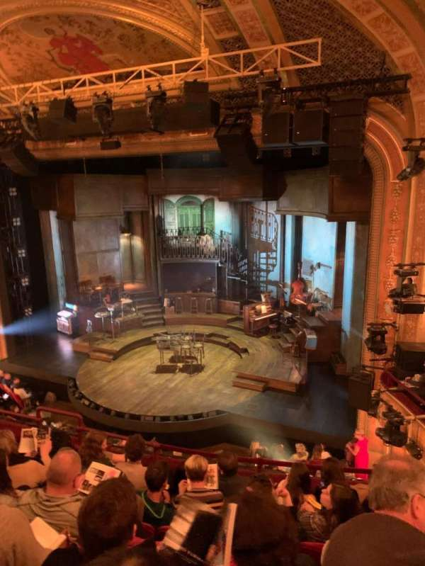 Walter Kerr Theatre, secção: Mezzanine R, fila: F, lugar: 14