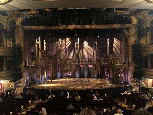 Richard Rodgers Theatre, secção: Orchestra C, fila: Q, lugar: 107