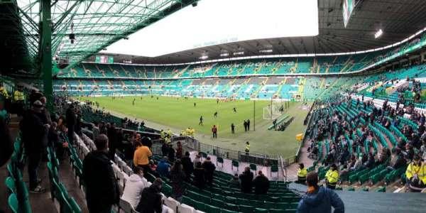 Celtic Park, secção: 119, fila: U, lugar: 21
