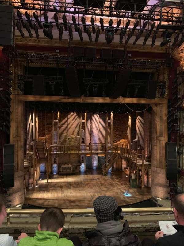 CIBC Theatre, secção: Mezzanine LC, fila: D, lugar: 307
