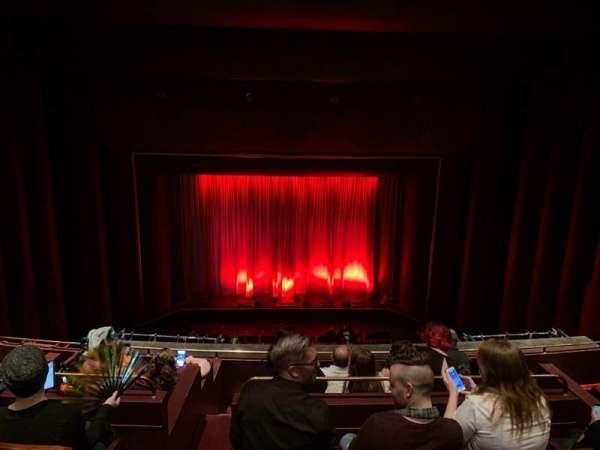 Brown Theater at the Wortham Center, secção: Grand Tier, fila: F, lugar: A6