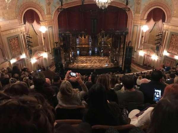 Forrest Theatre, secção: Rear Mezzanine C, fila: P, lugar: 10