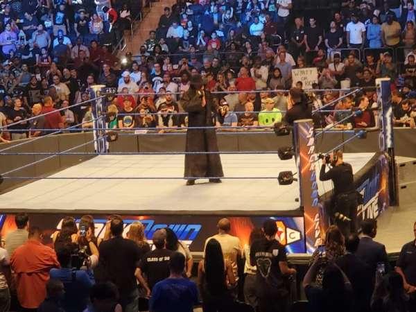 Madison Square Garden, secção: 118, fila: 7, lugar: 14