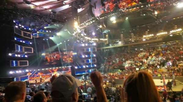 Madison Square Garden, secção: 118, fila: 19, lugar: 4