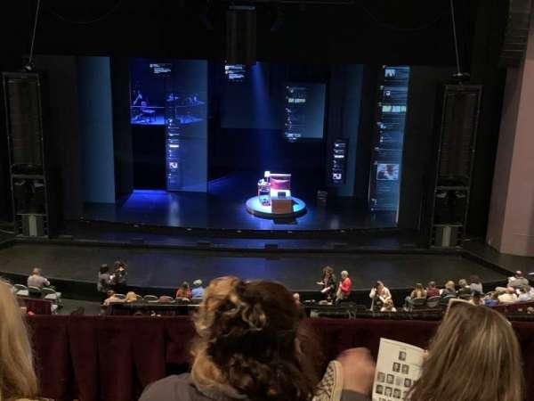 Mahalia Jackson Theater for the Performing Arts, secção: 11, fila: C, lugar: 9