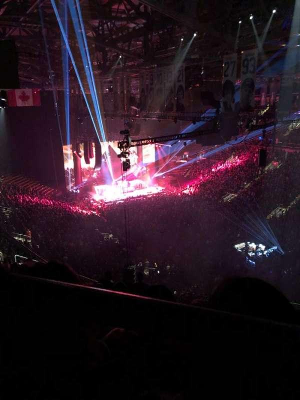 Scotiabank Arena, secção: 306, fila: 14, lugar: 1