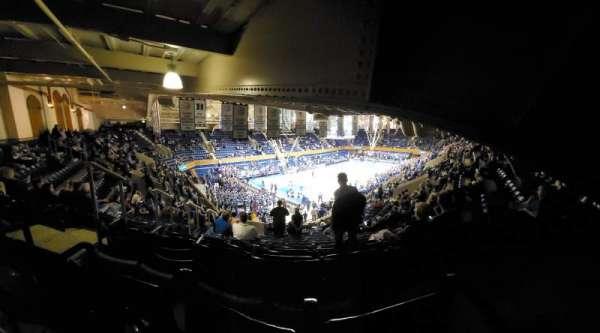 Cameron Indoor Stadium, secção: 12, fila: R, lugar: 17