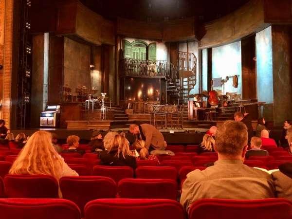 Walter Kerr Theatre, secção: Orchestra C, fila: M, lugar: 105