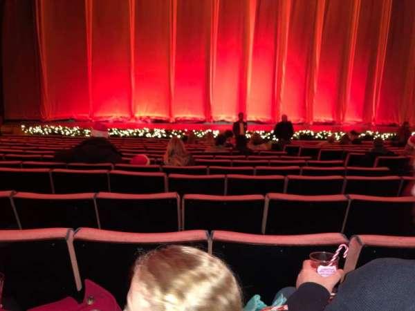 Radio City Music Hall, secção: Orchestra 5, fila: OO