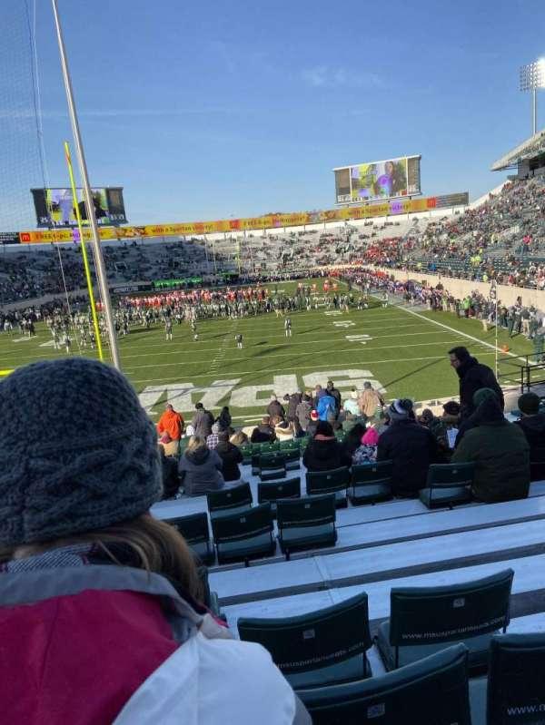 Spartan Stadium, secção: 15, fila: 16, lugar: 48