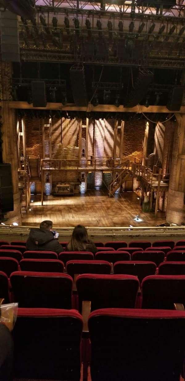 CIBC Theatre, secção: Mezzanine LC, fila: H, lugar: 313