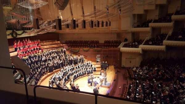 Davies Symphony Hall, secção: 1st Tier, fila: A, lugar: B3