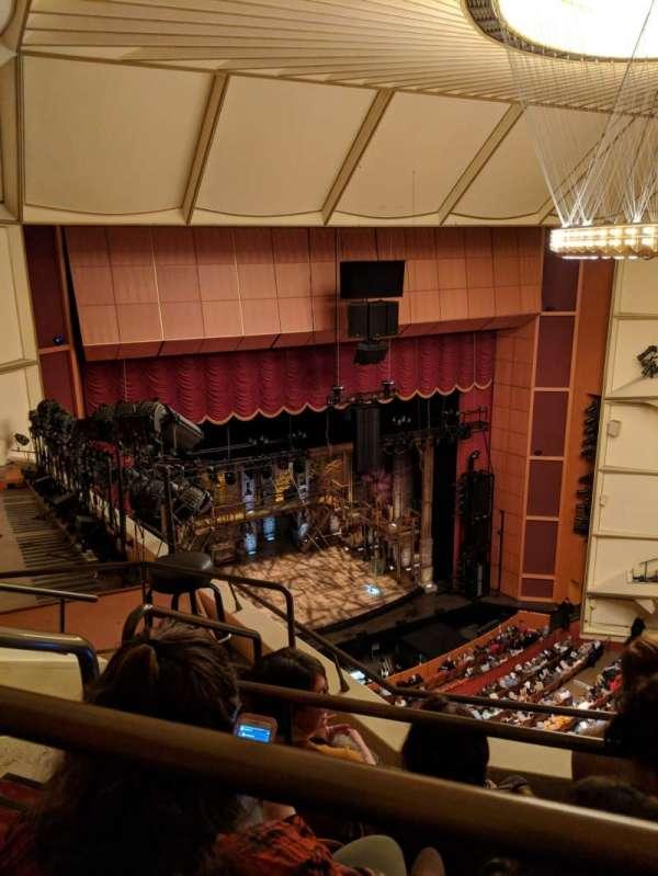 Uihlein Hall, secção: Balcony, fila: C, lugar: 1