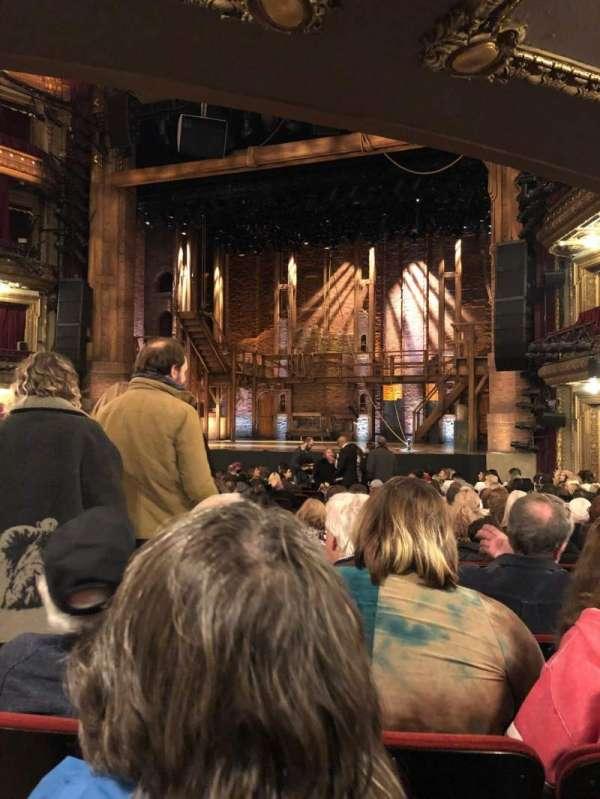 CIBC Theatre, secção: Orchestra R, fila: U, lugar: 2