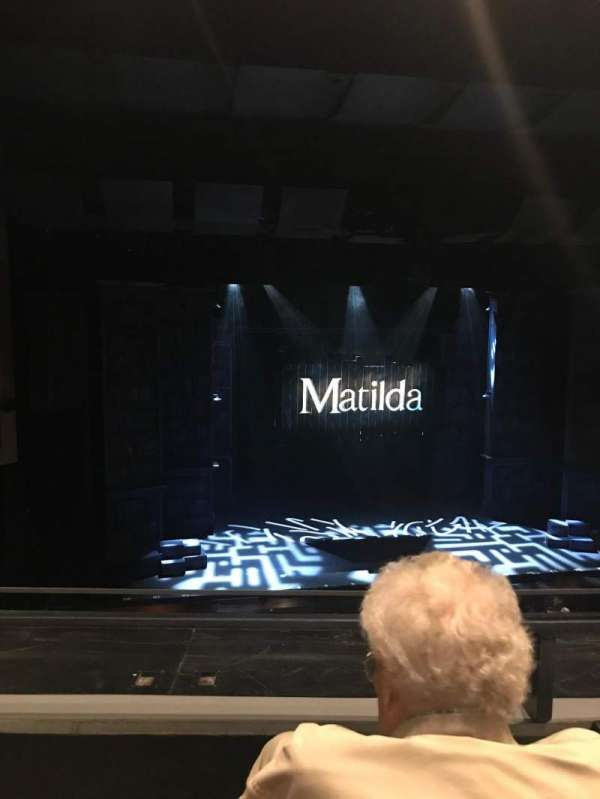 La Mirada Theatre for the Performing Arts, secção: Balcony, fila: BB, lugar: 33