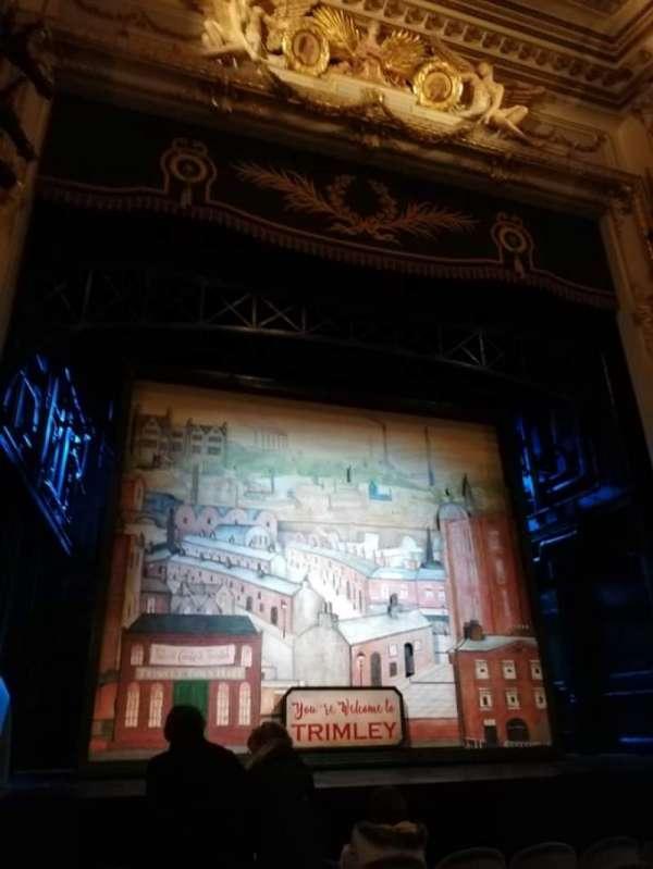 Wyndham's Theatre, secção: stalls, fila: G, lugar: 21