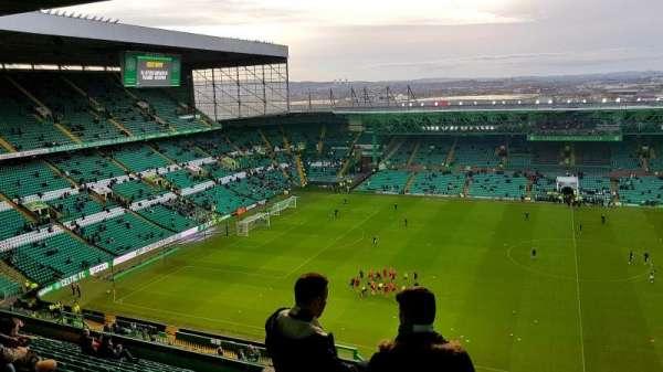 Celtic Park, secção: 406, fila: Q, lugar: 7