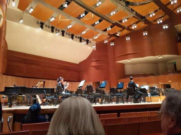 Joseph Meyerhoff Symphony Hall, secção: Orch, fila: G, lugar: 19