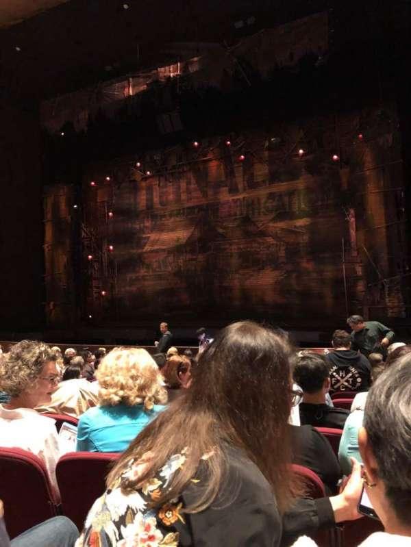 San Jose Center For The Performing Arts, secção: Orchestra, fila: 12, lugar: 33