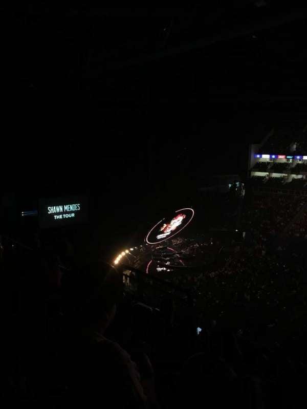 The O2 Arena, secção: 404, fila: F, lugar: 546