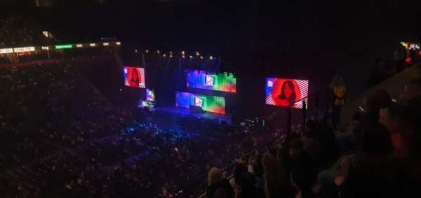 Manchester Arena, secção: 213, fila: E, lugar: 8