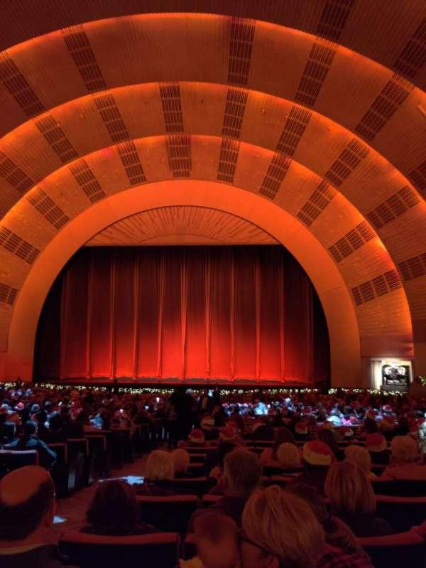 Radio City Music Hall, secção: Orchestra 3, fila: M, lugar: 312