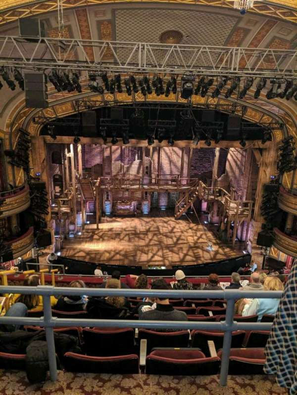 Richard Rodgers Theatre, secção: Rear Mezzanine C, fila: G, lugar: 112