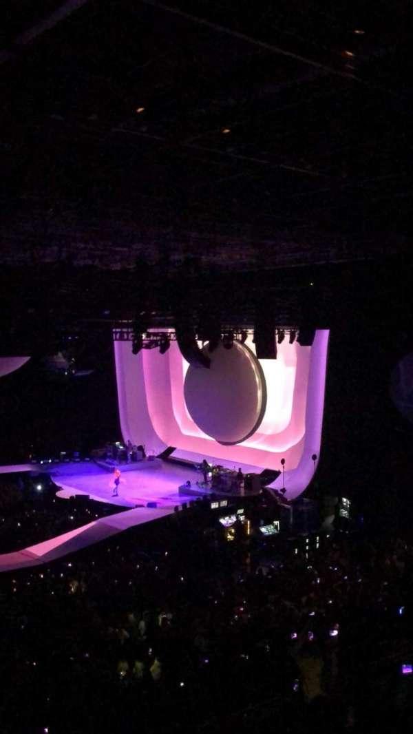 Arena Birmingham, secção: 2, fila: KK, lugar: 65