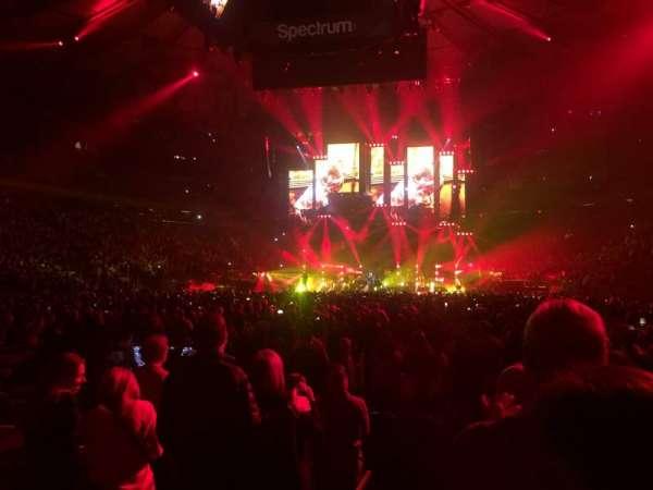 Madison Square Garden, secção: 3, fila: 7, lugar: 1