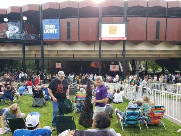 Saratoga Performing Arts Center, secção: Lawn