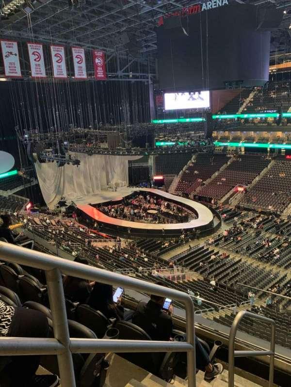 State Farm Arena, secção: 219, fila: E, lugar: 20