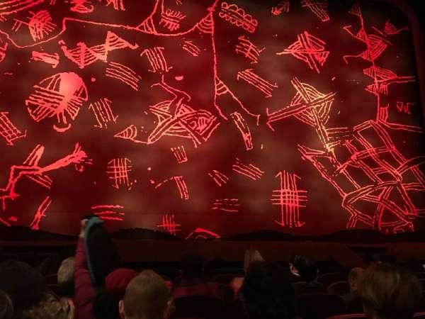 Minskoff Theatre, secção: Orchestra C, fila: G, lugar: 107