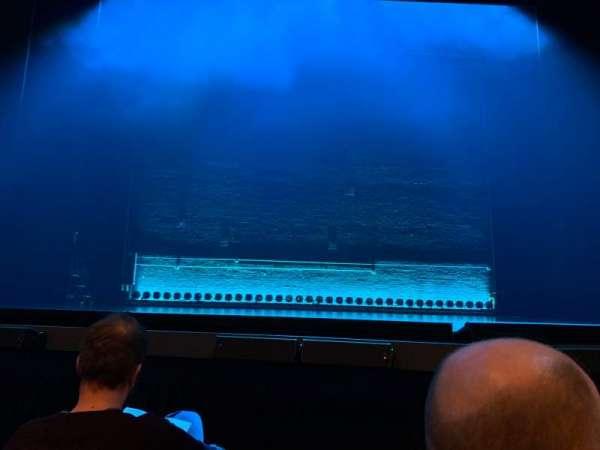 Broadhurst Theatre, secção: Orchestra C, fila: C, lugar: 105