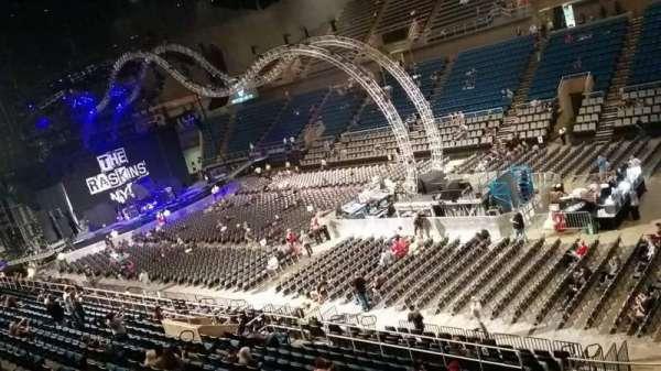 Mississippi Coast Coliseum, secção: DD, fila: 1, lugar: 12