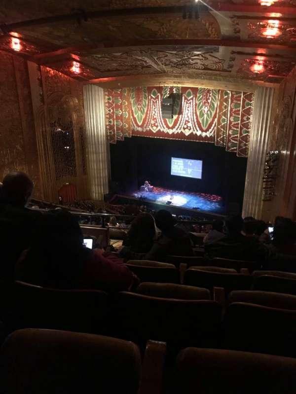 Paramount Theater (Oakland), secção: BALC REAR, fila: W, lugar: 30