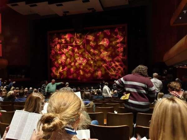 DeVos Performance Hall, secção: Orchestra, fila: R, lugar: 10