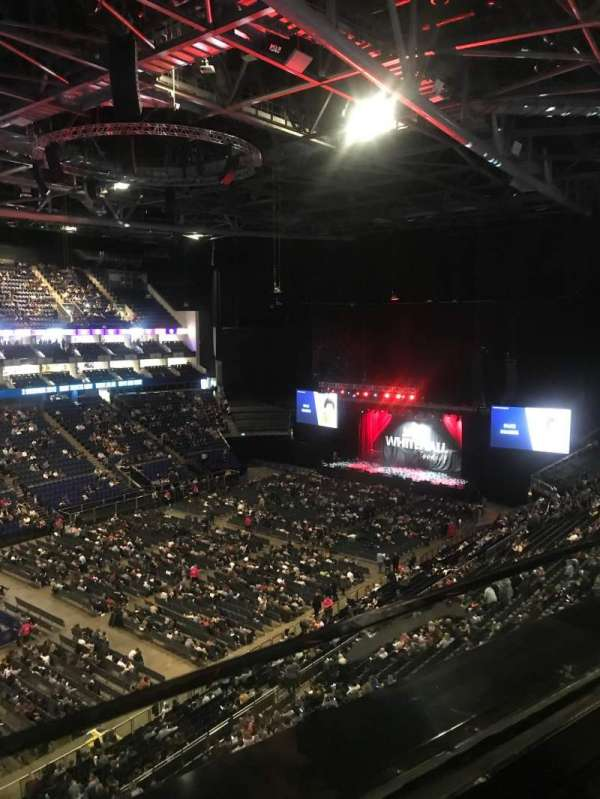 The O2 Arena, secção: 417, fila: A, lugar: 843