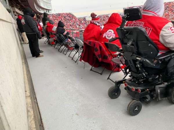 Ohio Stadium, secção: 29D, fila: 1, lugar: 7