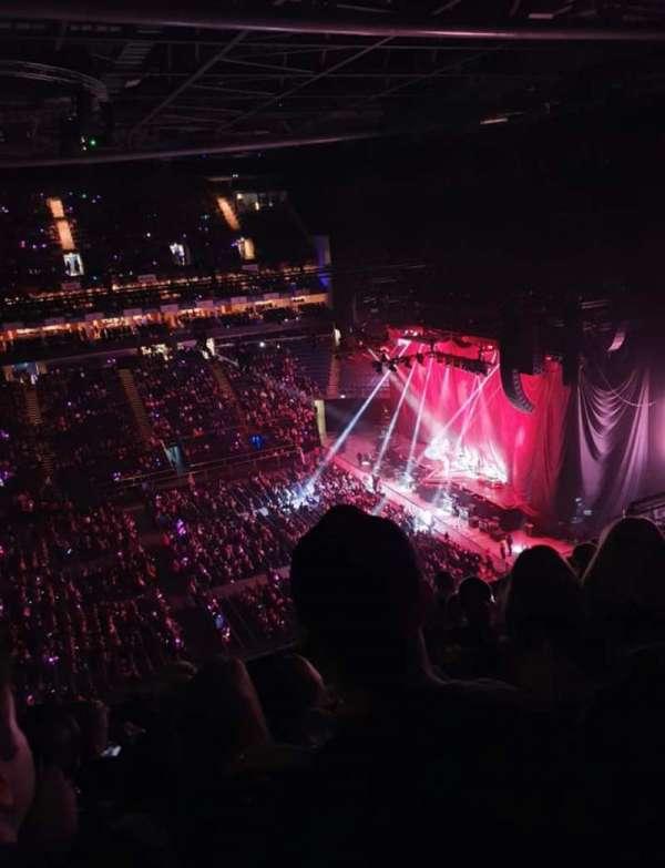 The O2 Arena, secção: 420, fila: H, lugar: 921