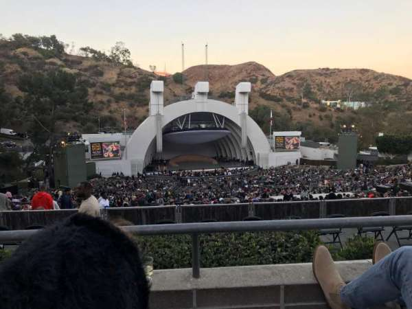 Hollywood Bowl, secção: N3, fila: 2, lugar: 11