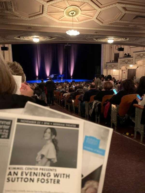 Merriam Theater, secção: Orchestra, fila: Y, lugar: 1