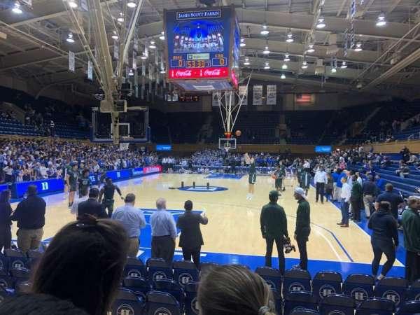 Cameron Indoor Stadium, secção: 20, fila: 5, lugar: GA