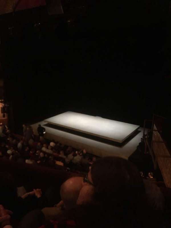 Ethel Barrymore Theatre, secção: Front Mezzanine R, fila: C, lugar: 16