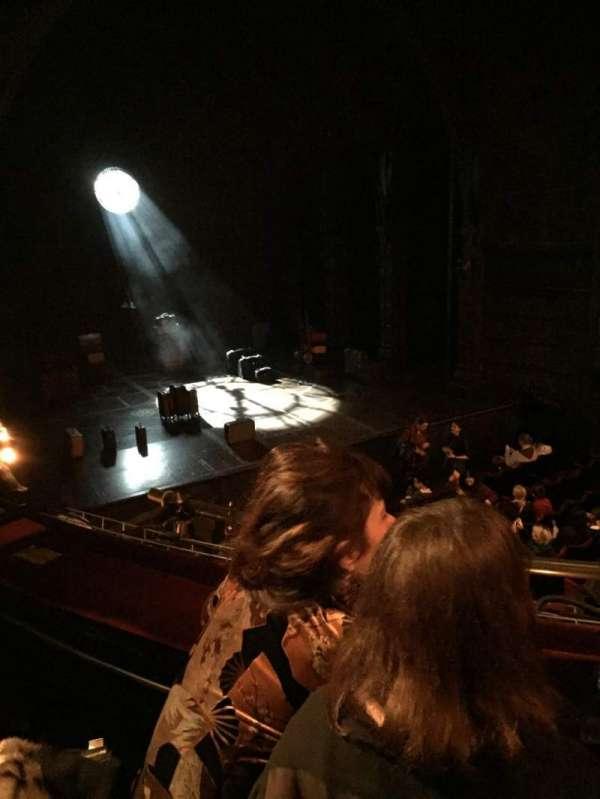 Palace Theatre (West End), secção: Dress circle, fila: B, lugar: 31