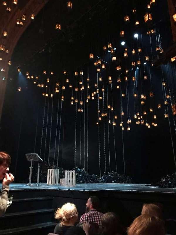 Lyceum Theatre (Broadway), secção: ORCHR, fila: E, lugar: 8