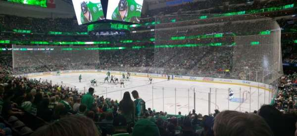 American Airlines Center, secção: 115, fila: T, lugar: 16