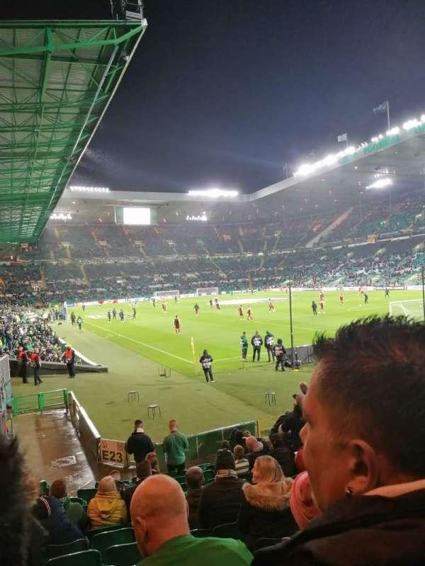 Celtic Park, secção: 117, fila: H, lugar: 9