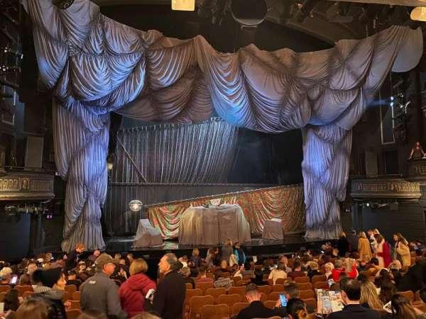 Majestic Theatre, secção: Orchestra L, fila: N, lugar: 1